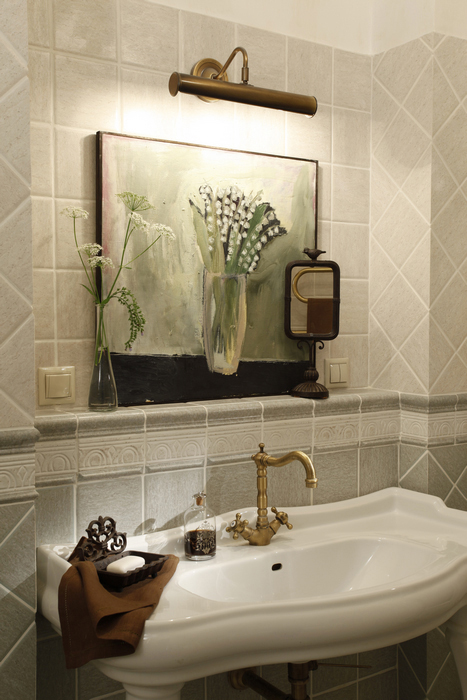 Квартира. ванная из проекта , фото №22667