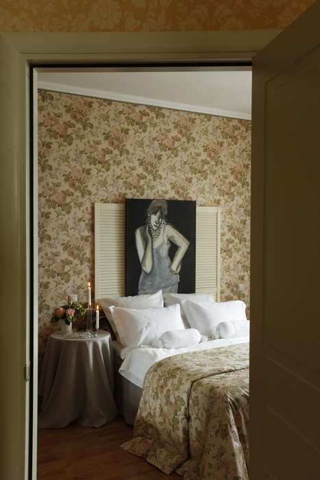 Квартира. спальня из проекта , фото №22679