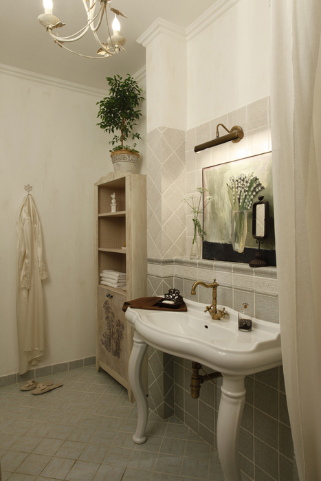 Квартира. ванная из проекта , фото №22670