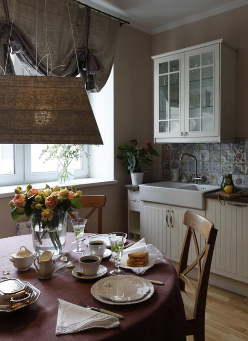 Квартира. кухня из проекта , фото №22649