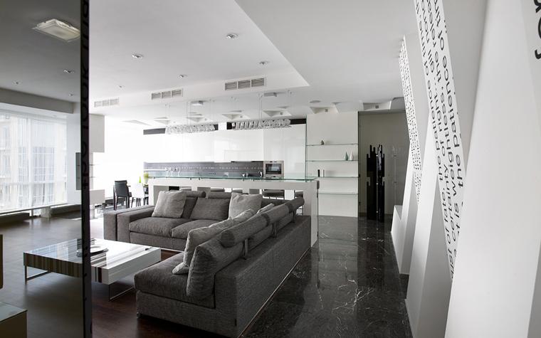 интерьер гостиной - фото № 21652