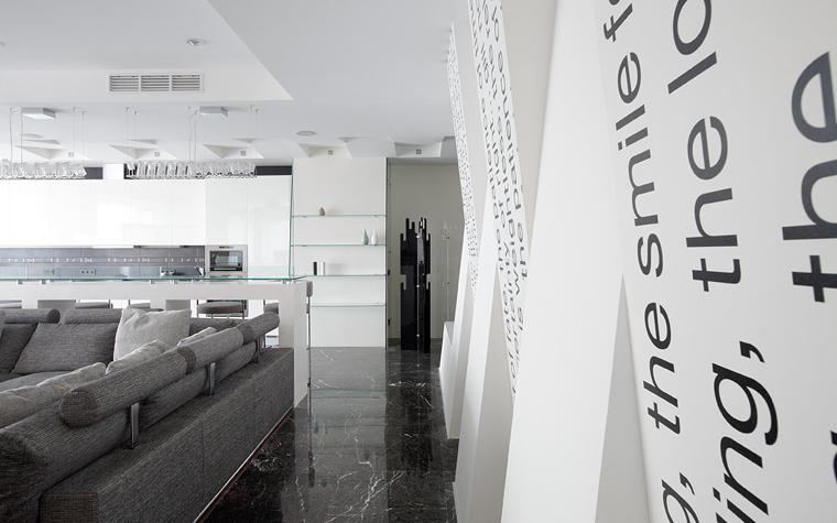 интерьер гостиной - фото № 21673