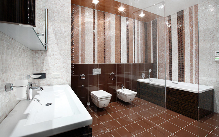 Квартира. ванная из проекта , фото №21665