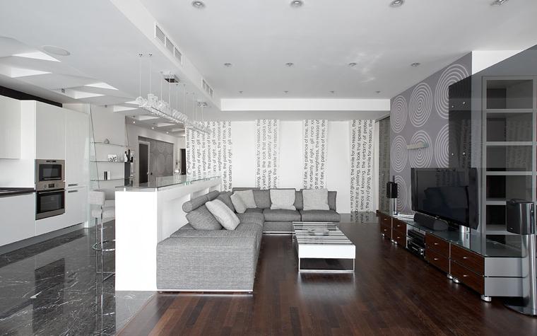 интерьер гостиной - фото № 21650
