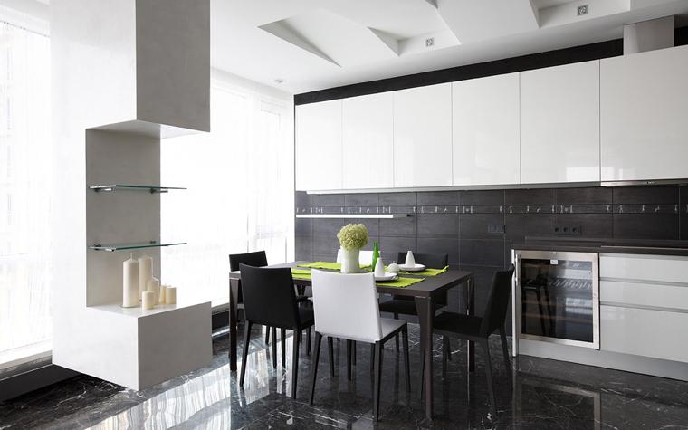 Квартира. кухня из проекта , фото №21655