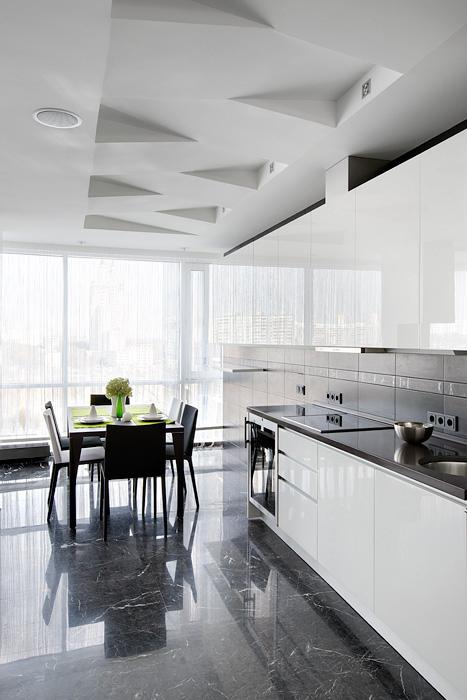 Квартира. кухня из проекта , фото №21658