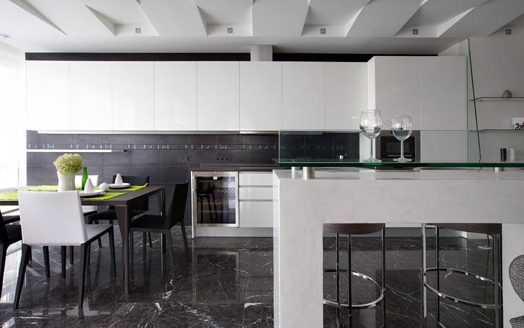 Квартира. кухня из проекта , фото №21659