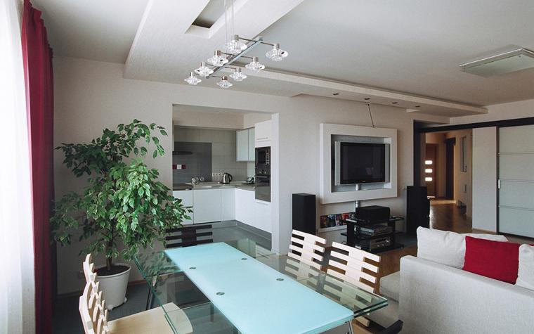 Квартира. гостиная из проекта , фото №26845