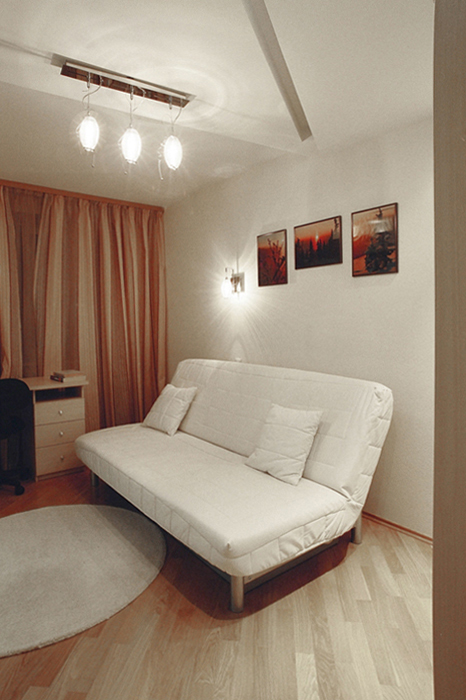 Квартира. спальня из проекта , фото №26842