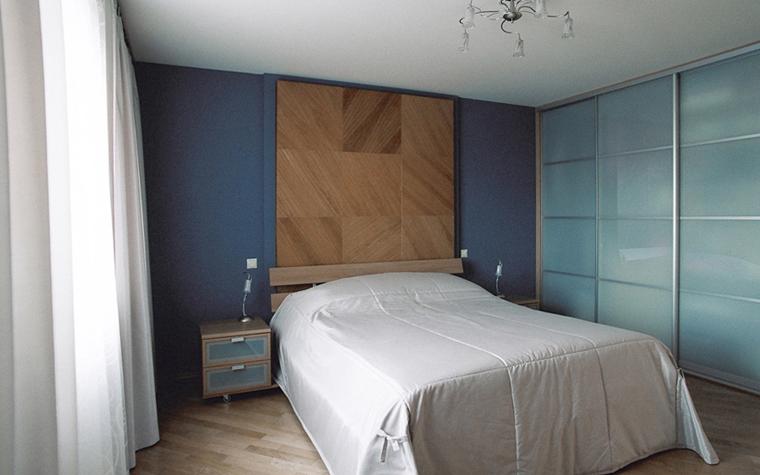 Квартира. спальня из проекта , фото №26837