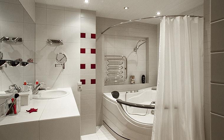 Квартира. ванная из проекта , фото №26844