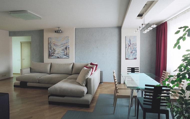 Квартира. гостиная из проекта , фото №26835