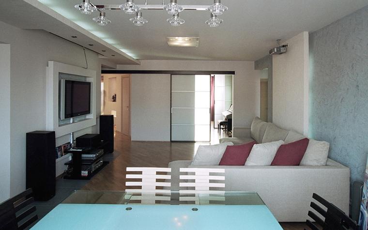 Квартира. гостиная из проекта , фото №26836