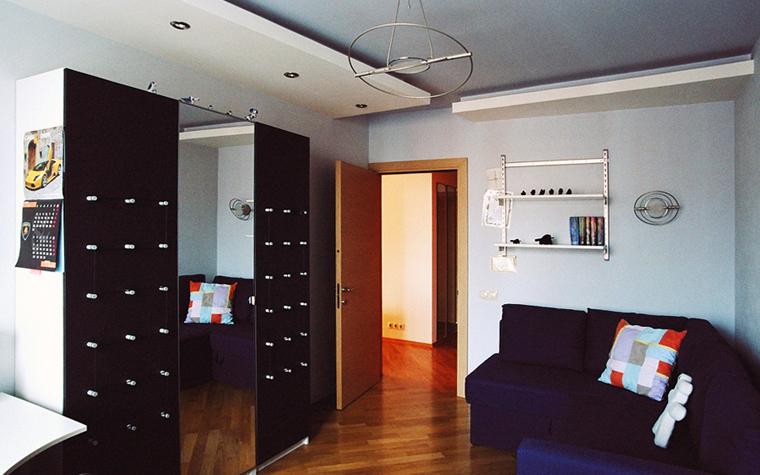 Квартира. спальня из проекта , фото №26843