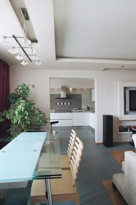 Квартира. гостиная из проекта , фото №26846