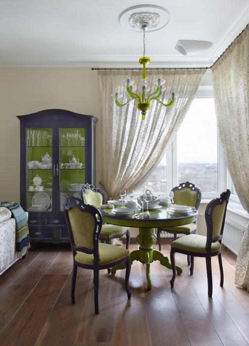 Квартира. столовая из проекта , фото №24649