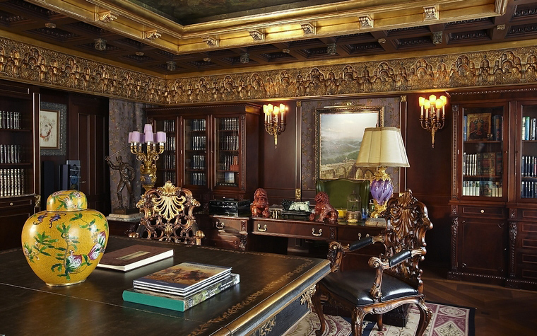 интерьер кабинета - фото № 39667