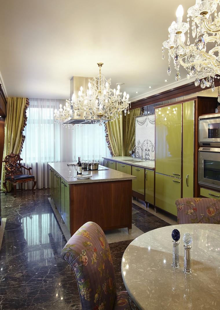 Фото № 39665 кухня  Квартира
