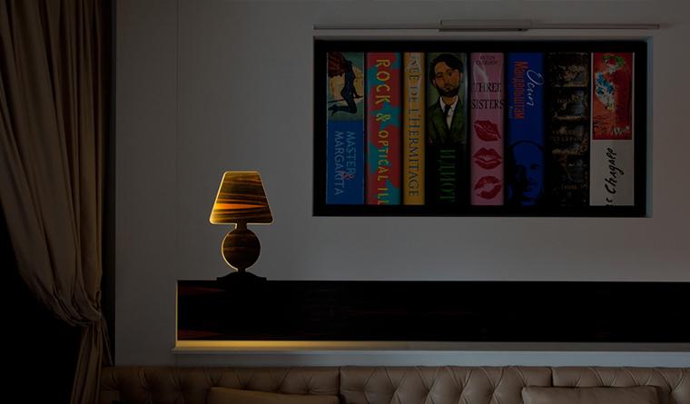 интерьер гостиной - фото № 30602