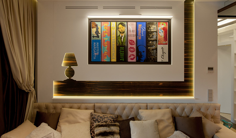 интерьер гостиной - фото № 30605