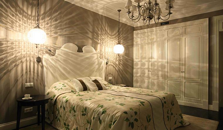 интерьер спальни - фото № 30728