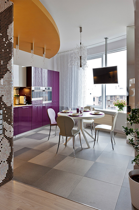 Квартира. кухня из проекта , фото №30835
