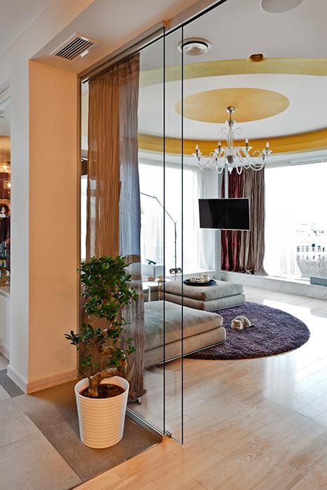 Квартира. гостиная из проекта , фото №30832