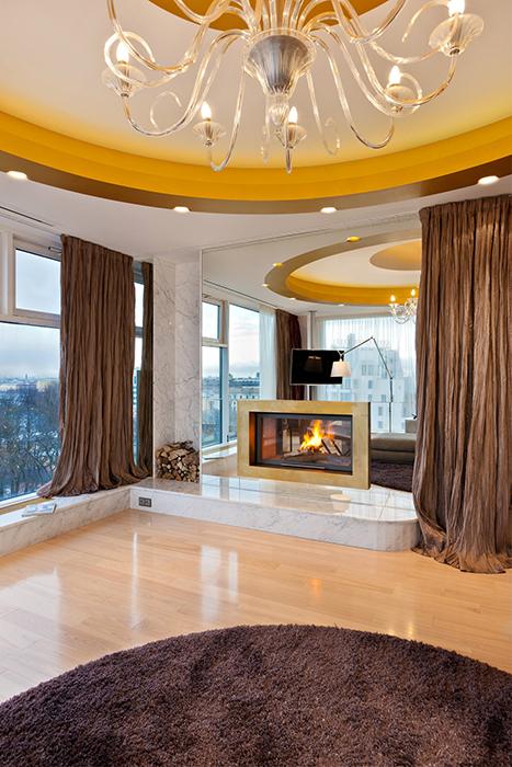 Квартира. гостиная из проекта , фото №30829