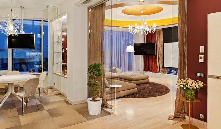 Квартира. гостиная из проекта , фото №30830