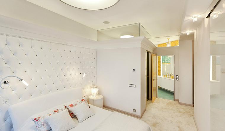 интерьер спальни - фото № 30837