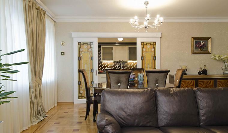 интерьер гостиной - фото № 30898