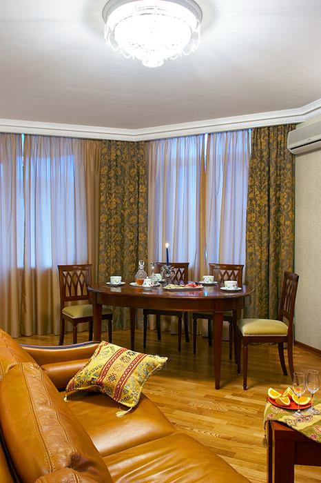 Квартира. столовая из проекта , фото №30943