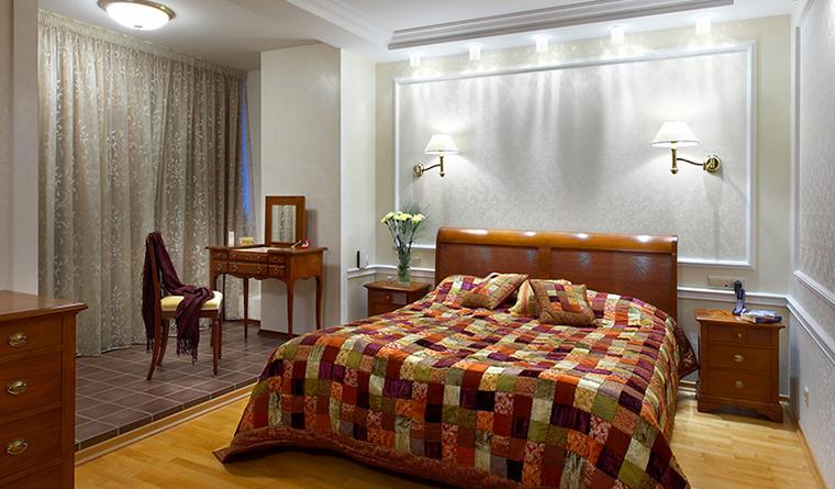 Квартира. спальня из проекта , фото №30942