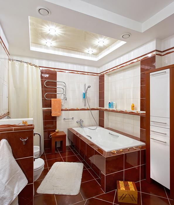 Квартира. ванная из проекта , фото №30944