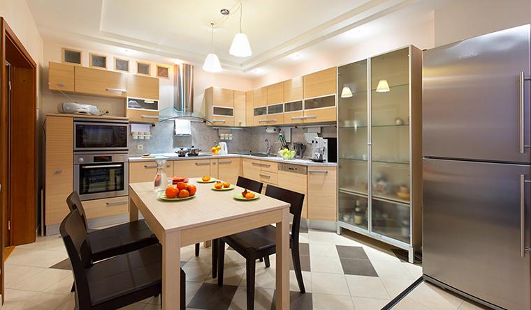 Квартира. кухня из проекта , фото №30946