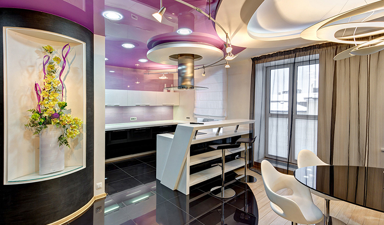 Фото № 32722 кухня  Квартира
