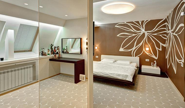 интерьер спальни - фото № 32723