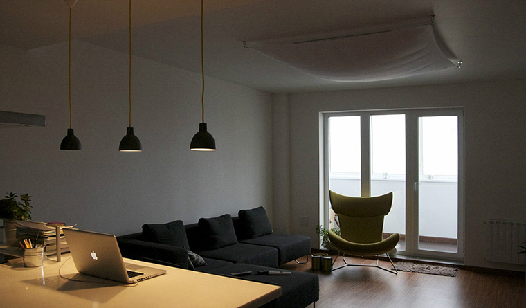интерьер гостиной - фото № 31061