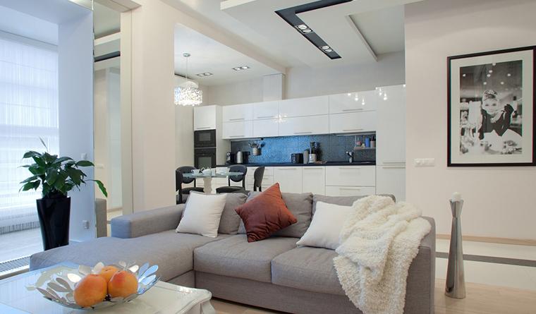 Квартира. гостиная из проекта , фото №31089