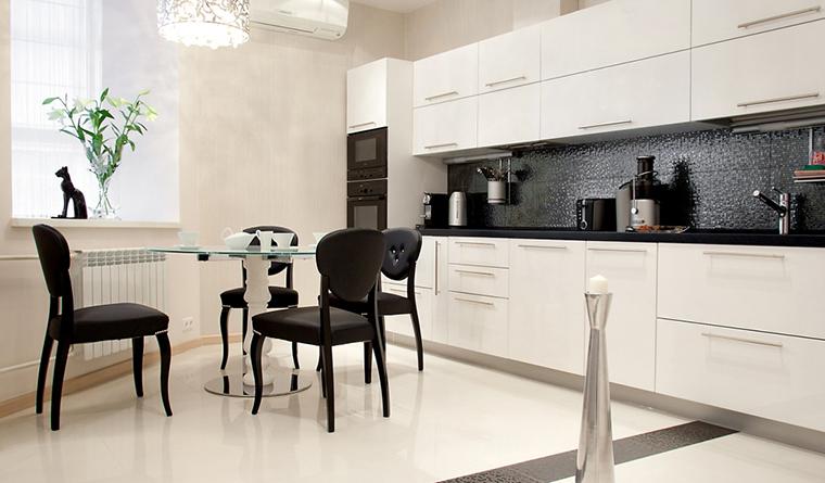 Квартира. кухня из проекта , фото №31092