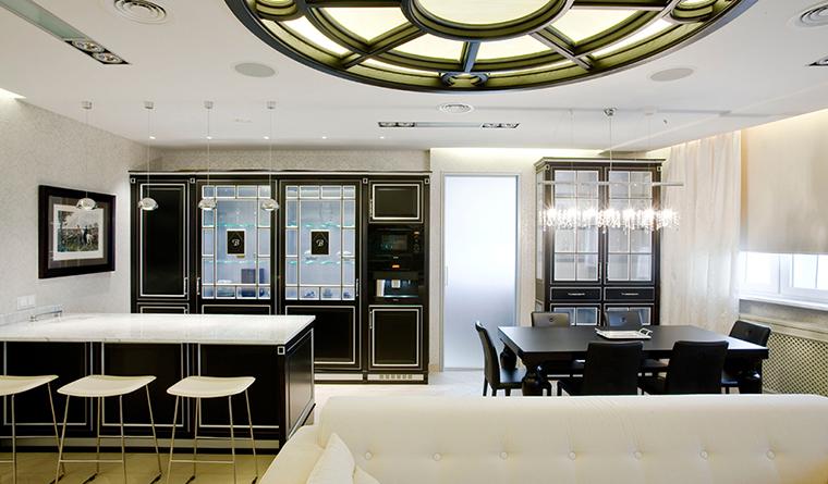 Квартира. гостиная из проекта , фото №31131