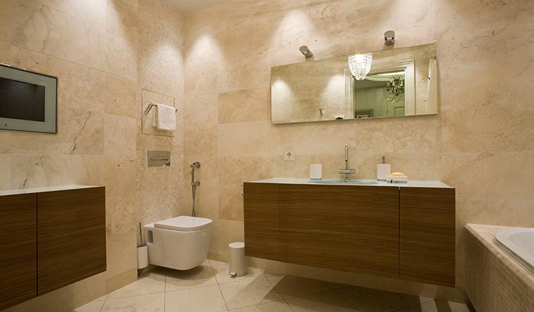 Квартира. ванная из проекта , фото №31140