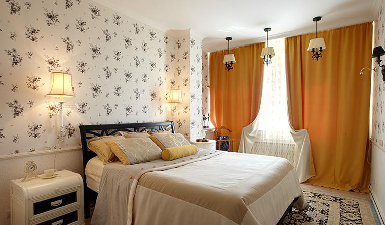 интерьер спальни - фото № 31149