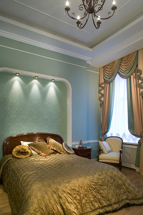 интерьер спальни - фото № 31316