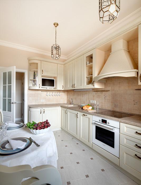 Квартира. кухня из проекта , фото №31450