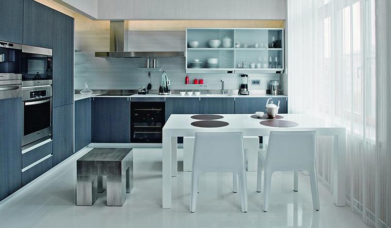Фото № 31460 кухня  Квартира