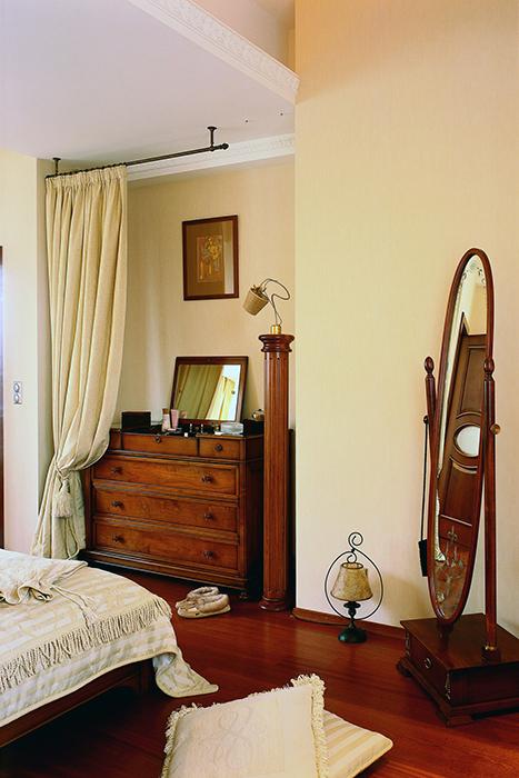 Квартира. спальня из проекта , фото №31524