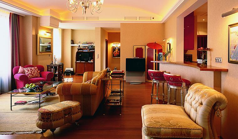 интерьер гостиной - фото № 31521