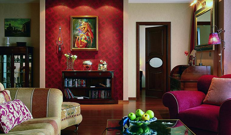 интерьер гостиной - фото № 31522