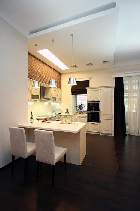 Квартира. кухня из проекта , фото №31558